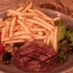Steak and chips - good size portions and steak cooked exactly as requested.