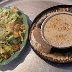 Soup & a salad at Lizzie's Cafe & Bistro...  #oceancitycool