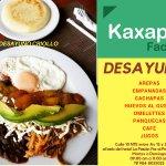 ¡Ven a Kaxapa Factory y disfruta de deliciosos y variados desayunos que tenemos para tí!
