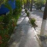 camineria al restaurant y playa