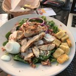 my chicken salad... very good!!!
