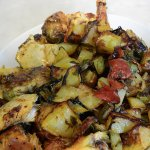 Our Umbrian Chicken before eating