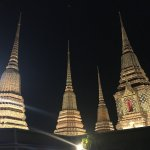 Wat Arun all lit up