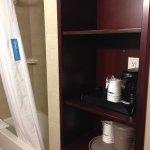 handy shelf for toiletries