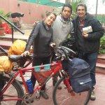 saliendo hacia Chile después del desayuno