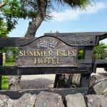Foto de The Summer Isles Hotel and Restaurant