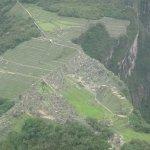 A view of Machu Picchu from Huayna Picchu