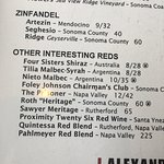 Excellent wine at an awesome price point. Very nice and eclectic wine menu for all palates and b