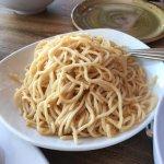 Garlic noodle