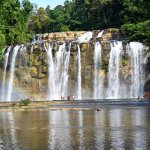 Tinuy-an Falls seen from a distance