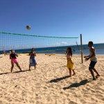 Volleyball at Castaway Island