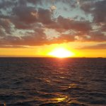 Sunset from the Cruise