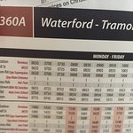 Maps, Directions in Mooncoin, Bus Timetables from Dublin-Waterford and Waterford-Mooncoin