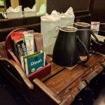Kaffee und Tee kostenlos im Zimmer