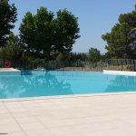 La piscine à 9:00