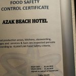 Out of date food hygiene certificate