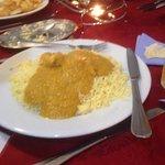 chicken korma & rice