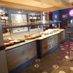 The Carvery Serving Counter.