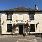 The Pickwick Inn on a lovely summers day.
