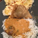 Amazing Indian Food. Try the Lamb Korma, Garlic Naan and Vegetable Samosa. All so delicious and