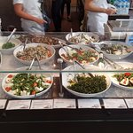 Ble also has several different types of fresh salads available for purchase.