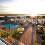 The Plaza Beach Resorts is centrally located on the beautiful sands of St. Pete Beach.
