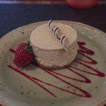 Dessert- vanilla cheesecake