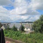 views from beer garden