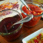 Traditional Chili Sauces to spice up your dish.