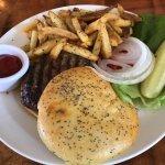 Satisfying Maui Cattle Burger