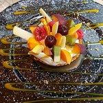 La tartelette aux fruits frais.
