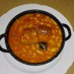 Fabada asturiana Menú