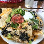 Chicken Nachos...excellent and filling