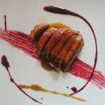 Duck breast with red fruit sauce - Petto d'anatra ai frutti rossi
