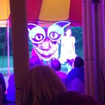 """The Cheshire Cat from July 28th's performance of """"Alice"""""""