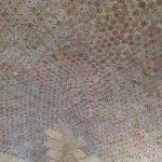 The beautiful ceilings at Mare Resort .