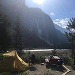 Photo de Takkakaw Falls Campground