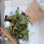 Entrée foie gras et plat magret canard pommes de terre salardaises