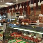 Meat and deli counter area