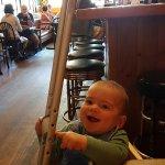My cute grandson
