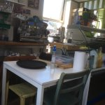 The wonderful Greendays cafe.