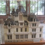 Model of the Lumiere mansion