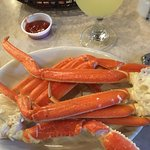 Not Small Crab Legs!! 2nd photo--yummy crab legs GONE!!