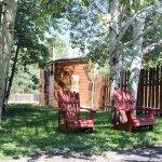 Outdoor seating to enjoy!