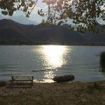 Der Lake Diaz weiter hinten im Tal, zur Abkühlung !