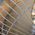 Dirty fan they provide since there's no air conditioning.
