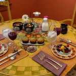 We awoke to this fabulous breakfast in our kitchen!