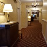 Hallway towards the room we stayed in