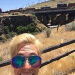 hey a train!