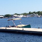 Beautiful new Bush Marina at the Port Severn Lock